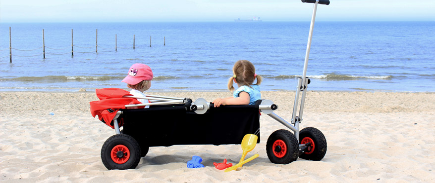 strand bollerwagen faltbar